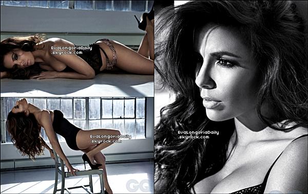 • 26 Novembre 2o12 •  - Etats-Unis. 📷 Eva fait la Couverture de « GQ Magazine ».