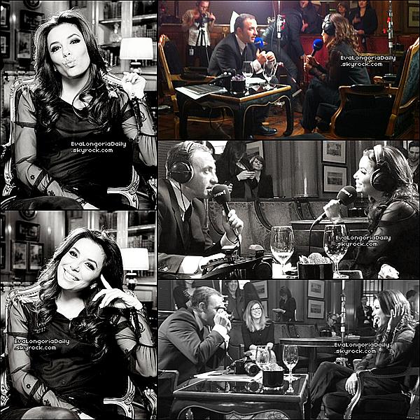 • 13 Mai 2o13 •  - Paris, France. 📺 Eva est allée sur le plateau de l'émission « Le Grand 8 » sur la chaîne D8.