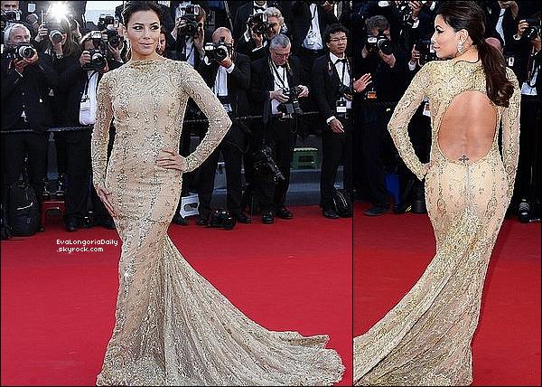 ✴ Eva est allée à la Première de Le Passé pendant le 66th Annual Cannes Film Festival.  17 Mai 2013. Cannes, France. Tenue: Eva porte une Robe Zuhair Murad & des Escarpins Casadei à 1110¤.