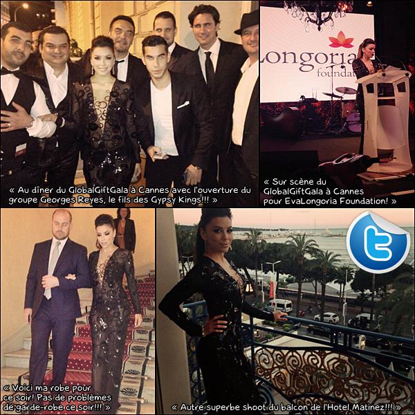 • 19 Mai 2o13 •  - Cannes, France. 🎉 Le soir, Eva & Amaury Nolasco sont allés au « Nikki Beach Nightclub ».  Tenue: Top Emilio Pucci, Short Emilio Pucci & Escarpins Brian Atwood 61o¤.
