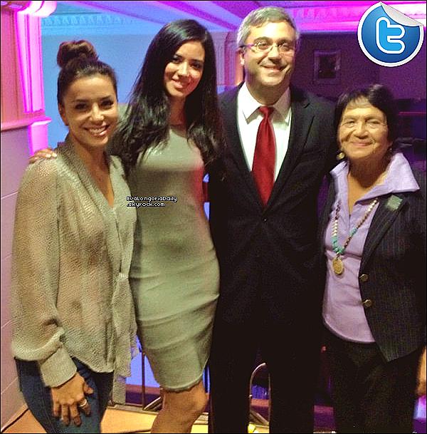 • 19 Août 2o13 •  - Downtown, Etats-Unis. 🎂 Eva & Edy Ganem sont allées à « L'Anniversaire de Thomas Saenz » le président du MALDEF.