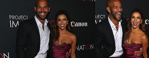 • 24 Octobre 2o13 •  - New-York, Etats-Unis. ⭐ Enfin, Eva & Amaury Nolasco sont allées à la « Première de Canon's Project Imaginat10n  » qui avait lieu au « Alice Tully Hall ».  Tenue: Robe Marchesa & Escarpins Jimmy Choo à 46o¤.