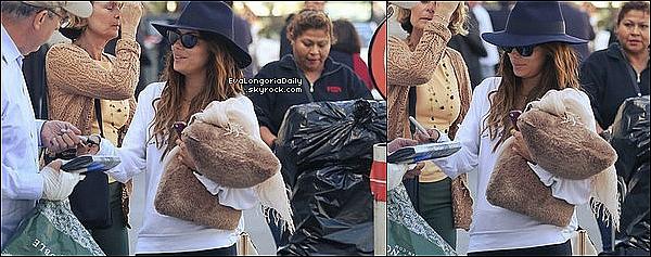• 29 Octobre 2o13 •  - Beverly Hills, Etats-Unis. 🍴 Puis, Eva, Maria & Bonnie sont allées dîner au « Hakkasan Restaurant ».