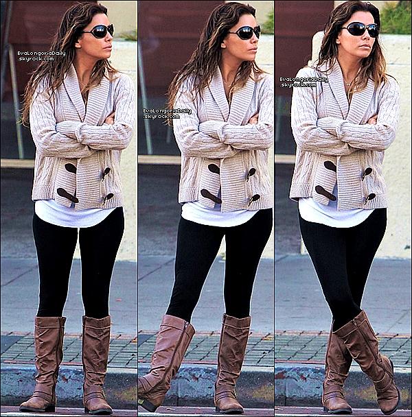 🎥 Eva était sur le Tournage de Any Day.  3o Octobre 2013. Los Angeles - Etats-Unis.
