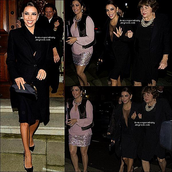 ✴️ Le soir, Eva & Victoria Beckham sont allées a Global Gift Gala 2013 qui se déroulait au ME Hotel.  19 Novembre 2013. Londres - Angeleterre. Tenue: Eva porte une Robe Victoria Beckham .