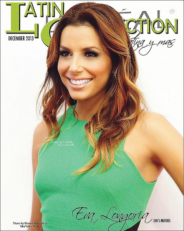 • Janiver 2o14 •  - Etats-Unis. 📷 Eva fait la Couverture de « Maxim Magazine » qui l'a élue Femme de l'Année.  Tenue: Top Helmut Lang à 6o¤.