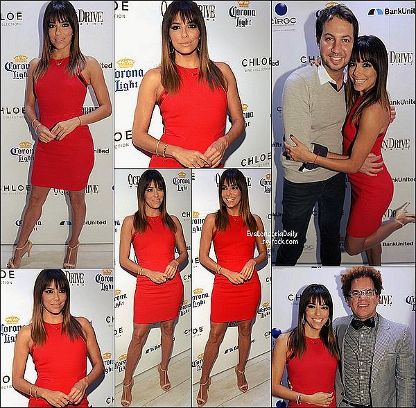 • 14 Mars 2o14 •  - Miami, Etats-Unis. 🎂 Eva & Pepe ont « Fêté le 39e Anniversaire d'Eva » au « Cavalli Club Miami » avec leurs amis.