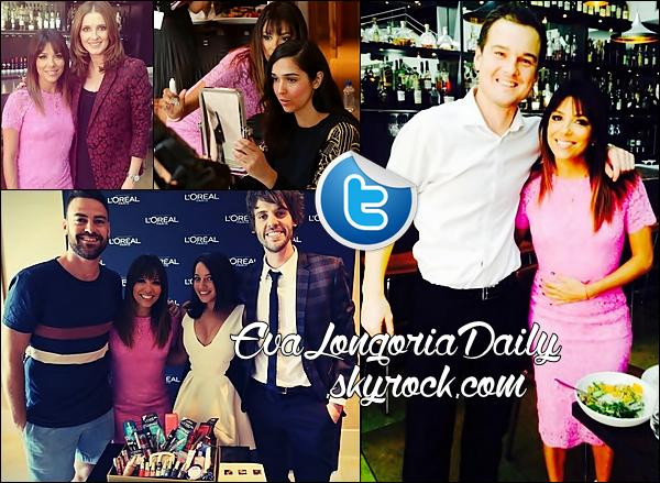 • 18 Mars 2o14 •  - Los Angeles, Etats-Unis. 🎉 Enfin, Eva est allée au « Club23 Nightclub » du « Crown Casino ».  Tenue: Robe Alex Perry à 29o¤ & Escarpins Christian Louboutin à 97o¤.
