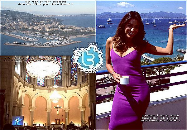 • 18 Mai 2o14 •  - Monaco. ⭐ Eva, Alina & Maria sont allées à une « Fête ».