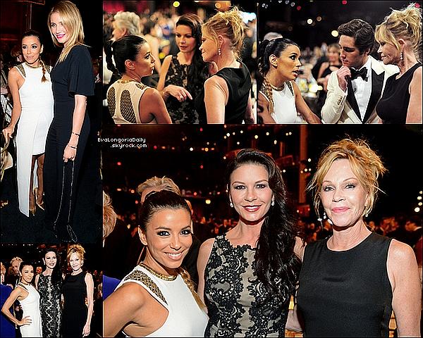 ✴ Eva est allée au AFI Life Achievement Award Gala au Dolby Theatre.  05 Juin 2014, Hollywood, Etats-Unis. Tenue: Eva porte une Robe Sass & Bide & des Escarpins Christian Louboutin à 990¤.