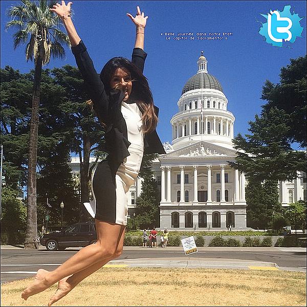 • 19 Juin 2o14 •  - Sacramento, Etats-Unis. 📷 Enfin, Eva a posté une photo d'elle durant un « Photoshoot » .