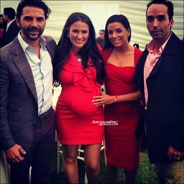 🎂 Eva & Jose Antonio sont allés à une Fête de Famille. 23 Août 2014. ?.