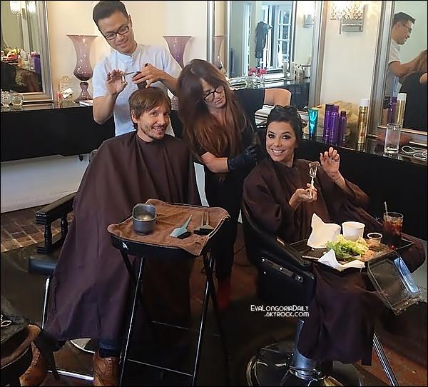 📺 Eva s'est rendue sur le plateau de l'émission Jimmy Kimmel Live.   02 Septembre 2014, Los Angeles - Etats- Unis. Tenue: Eva porte des Escarpins Christian Louboutin à 670¤.