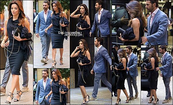 • 11 Septembre 2o14 •  - Los Angeles, Etats-Unis. 💅 Eva est allée au « Anastasia Salon ».  Tenue: Lunettes Christian Dior à 19o¤.