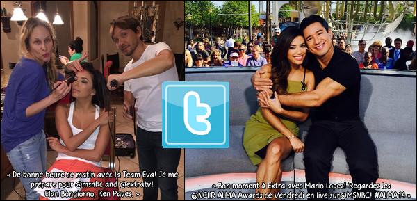 • o8 Octobre 2o14 •  - Beverly Hills, Etats-Unis. ⭐ Puis, Eva est allée au « 2014 Princess Grace Awards Gala » au « Beverly Wilshire Four Seasons Hotel ».  Tenue: Robe Gabriela Cadena & Escarpins Brian Atwood.