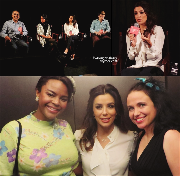 • 22 Octobre 2o14 •  - San Antonio, Etats-Unis. 🎤 Eva a donnée une « Interview » pour « The Texas Tribune ».