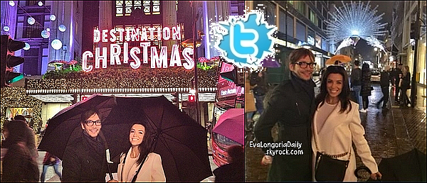 • 16 Novembre 2o14 •  - Londres, Angleterre. 🚶♀️ Eva a posté des « Photos d'Elle & ses amis » dans les rues de Londres.