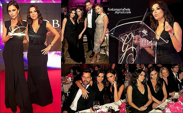• 17 Novembre 2o14 •  - Londres, Angleterre. ⭐ Le soir, Eva est allée au « Global Gift Gala » qui avait lieu au « Four Seasons Hotel ».  Tenue: Robe Victoria Beckham & Pochette Victoria Beckham.