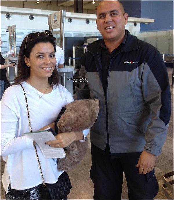 • 24 Décembre 2o14 •  - San Antonio, Etats-Unis. ✈️ Eva a a été vue dans un « Aéroport ».