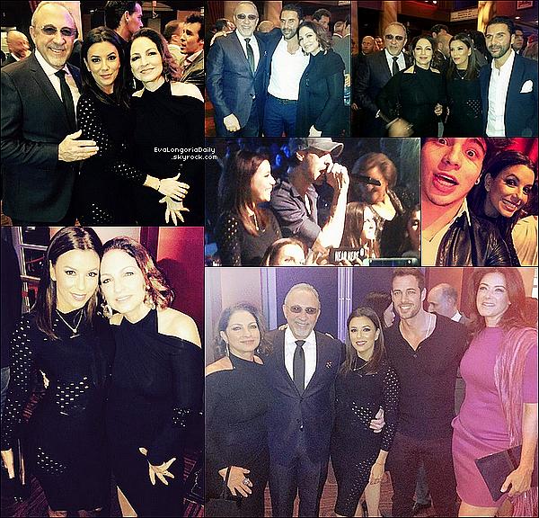 • 27 Janvier 2o15 •  - Los Angeles, Etats-Unis. 🎂 Eva a posté une photo pour « L'Anniversaire de Sheeva Moshiri ».