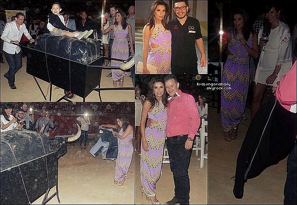 ⛪ Eva est ensuite allée au Baptême de Diego Gutierrez, le second fils d'Alina & Manuel.  o1 Mai 2015. Cordoba, Espagne.