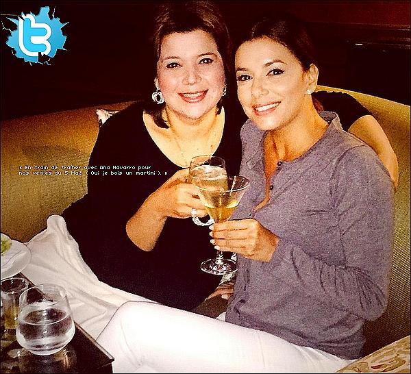 • o5 Mai 2o15 •  - Washington, Etats-Unis. 📷 Eva a posté une « Photo d'Elle & Ana Navarro ».
