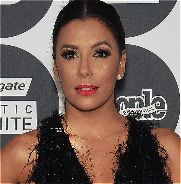 ✴ Eva est allée au People En Espanol's '50 Most Beautiful' Gala qui avait lieu au IAC Building.  12 Mai 2015. New-York, États-Unis. Tenue: Eva porte une Combinaison Marchesa à 5900¤.