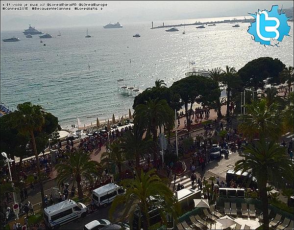 • 14 Mai 2o15 •  - Cannes, France. 🏨 Eva a été vue arrivant à « L'Hôtel Martinez ». Tenue: Lunettes Ray-Ban à 15o¤, Top Twenty à 12o¤, Sac Hermes à 81oo¤, Jupe Twenty à 12o¤ & Escarpins Christian Louboutin à 62o¤.