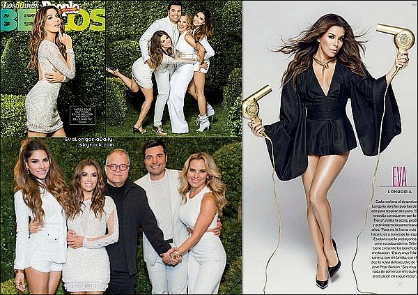 • 31 Mai 2o15 •  - Etats-Unis. 📷 Eva fait la Couverture de « People Magazine ».