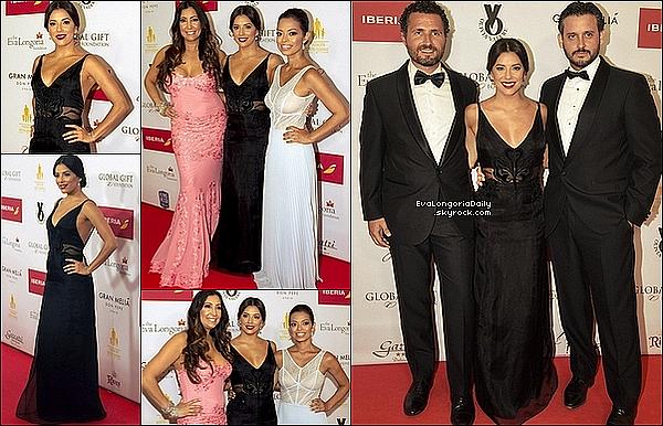 ✴ Eva est allée au Global Gift Gala 2015 au Gran Melia Don Pepe Hotel.  o5 Juilet 2015. Marbella, Espagne. Tenue: Eva porte une Robe Gyunel.