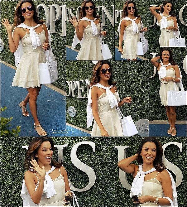 • 16 Septembre 2o15 •  - Universal City, Etats-Unis. 🎥 Eva était sur le « Tournage de Hot and Bothered ».