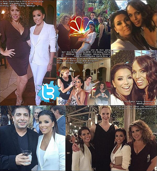 📷 Eva a posté une photo pour Sa Collection JCP.  21 Septembre 2015. Los Angeles, États-Unis.