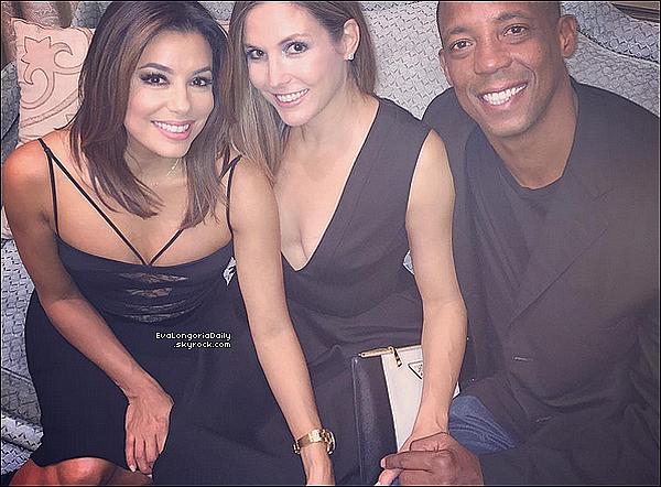 🎰 Le soir, Eva & sa famille était au Eva's Heroes Annual Celebrity Casino Night.  03 Octobre 2015. San Antonio, États-Unis.