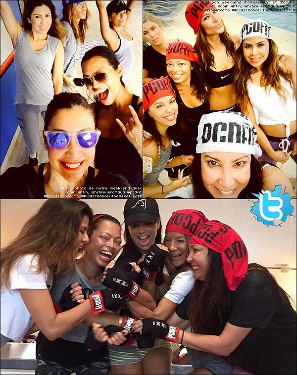 • 12 Octobre 2o15 •  - Cancún, Mexique. 🌴 Eva a posté des « Photos d'Elle & ses amies »lors de leur séjour à Cancún.
