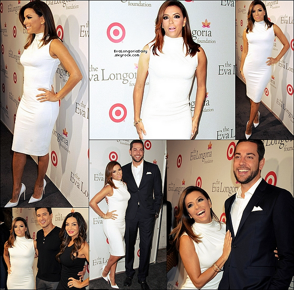 • o6 Novembre 2o15 •  - Hollywood, Etats-Unis. ⭐ Le soir, Eva est allée au Lancement de la Casa Mexico Tequila lors du « 4th Dinner With Eva » lors de la « WE tv's David Tutera Celebrations ». Tenue: Robe Misha à 17o¤.
