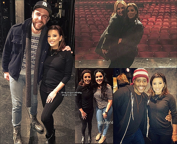 🎼 Eva s'est rendue à The Marquis Theatre pour voir le spectacle musical On Your Feet!.  17 Février 2o16. New-York - Etats-Unis.
