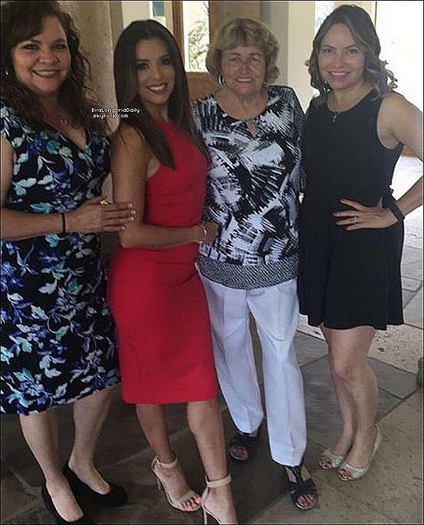 👪 Eva est allée Rendre visite à sa famille au Texas.  25 Avril 2o16. San Antonio - Etats-Unis.