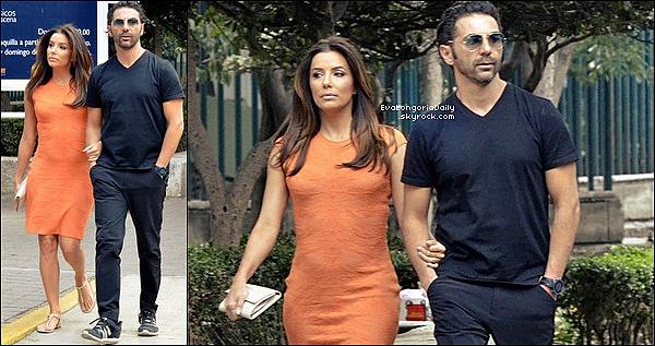 • o6 Mai 2o16 •  - Mexico, Mexique. 🚶 Eva & Pepe ont été vus « Se Promenant » dans les rues de Mexico.