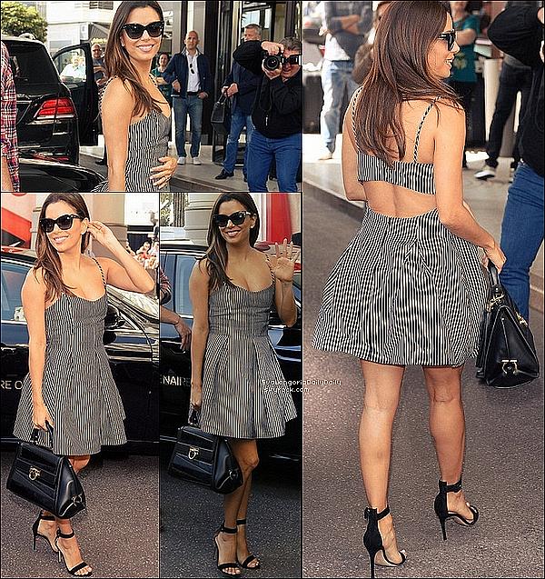 • 1o Mai 2o16 •  - Cannes, France. 🏃 Enfin, Eva a été vue « Faisant un Jogging ». Tenue: Baskets Adidas à 95¤.