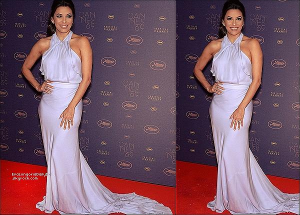 • 11 Mai 2o16 •  - Cannes, France. 🍴 Enfin, Eva est allée « Dîner au Restaurant » avec Victoria Beckham.