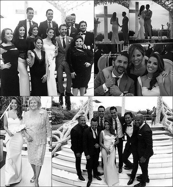. 21 Mai 2016 : Eva & Jose Antonio se sont mariés au Mexique !! .
