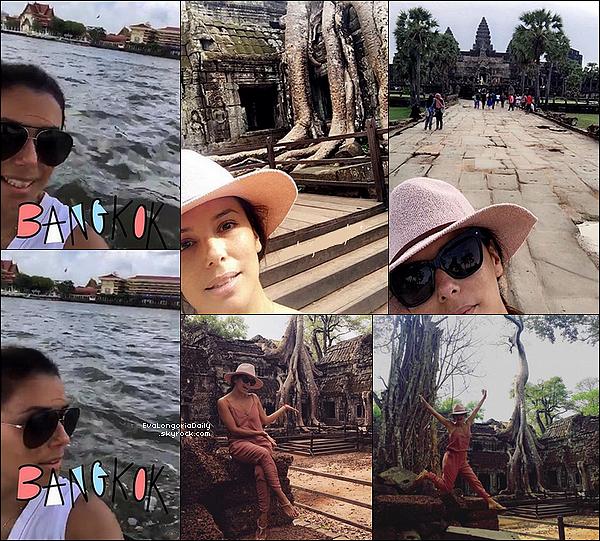 🌴 Eva & Pepe ont passé leur Lune de Miel dans différents endroits.  Du 24 au 31 Mai Mai 2o16. Cambodge/ Thaïlande.