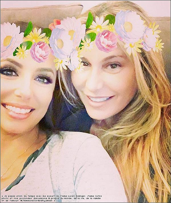 ✴️ Eva a posté une photo d'Elle & Loren Ridinger.  15 Juillet 2o16. New-York - Etats-Unis.