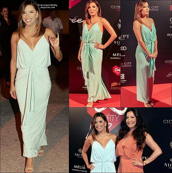 • 16 Juillet 2o16 •  - Marbella, Espagne. 🎉 Eva est allée au « Olivia Valere Nightclub ».