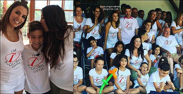 • 18 Juillet 2o16 •  - Marbella, Espagne. 🛍️ Eva, Pepe, Maria, Nicolas & Amaury sont allés « Faire du Shopping ». Tenue: Lunettes Victoria Beckham à 855¤, Combinaison Maje Palma à 395¤ & Sac Chloé à 131o¤.