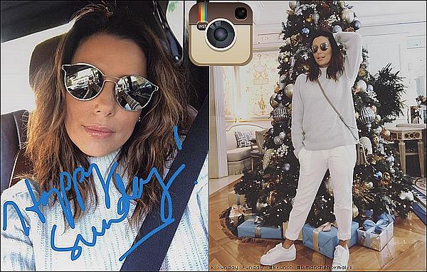 👗 Eva a posté Une Photo d'Elle.  19 Decembre 2o16. Etats-Unis.