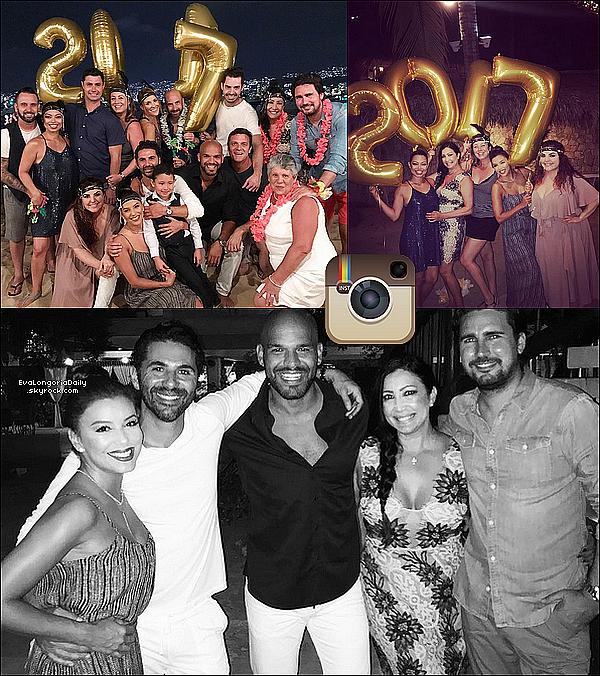 🎇 Eva a posté des photos d'elle pour le Réveillon du Nouvel-An.  31 Decembre 2o16. Acapulco - Mexique.