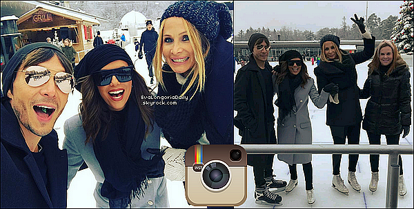 • o8 Janvier 2o17 •  - Zurich, Suisse. ⛸ Eva, Elan Bongiorno & Ken Paves sont allés faire du patin à glace à « Kunsteisbahn Oerlikon ».