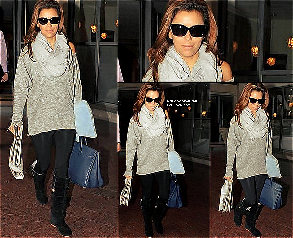 🏬 Puis, Eva est allée Faire du Shopping.  o8 Septembre 2010. Beverly Hills - Etats-Unis.