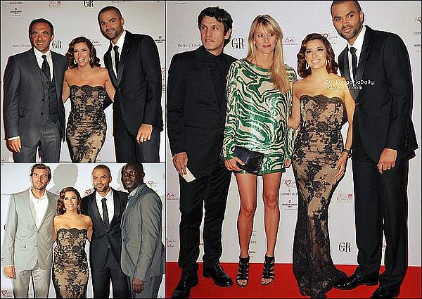 🎉 Enfin, Eva & Tony sont sortis au Queen Nightclub.  2o Septembre 2010. Paris - France. Tenue: Eva porte des Escarpins Christian Louboutin.